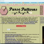Top Three Sites With Awesome Free Hand-Bag Patterns