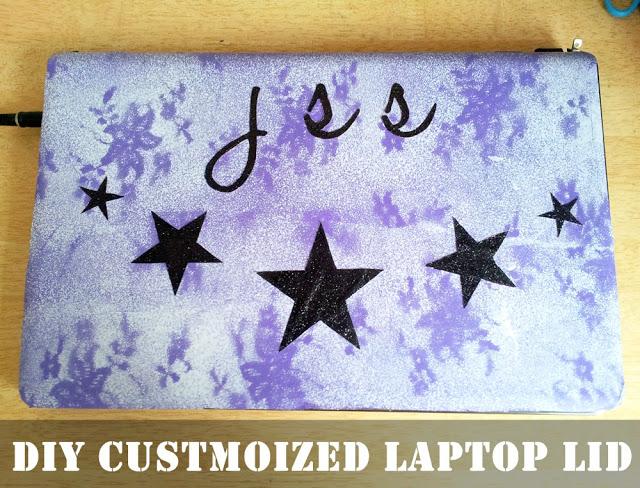 DIY Customized Laptop Skin