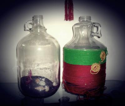 Spray Painted Bottle – FAIL!