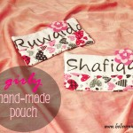Girly Hand-made Pouch
