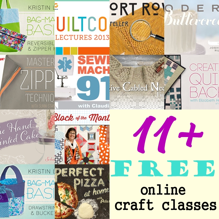 Make Most of FREE Craftsy Classes