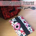 Fabric Organizer Tutorial-A Beginner's Experience