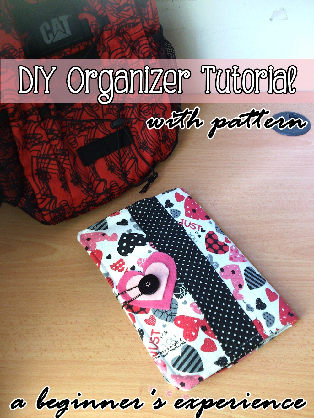 Fabric Organizer Tutorial on believeninspire.com (Beginner sewing project, free sewing pattern)