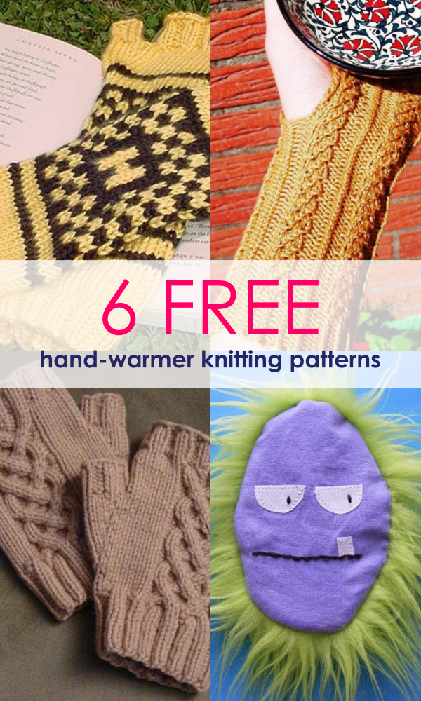 Free Patterns 10 Most Unique Hand Warmers For Winter Sew Some Stuff