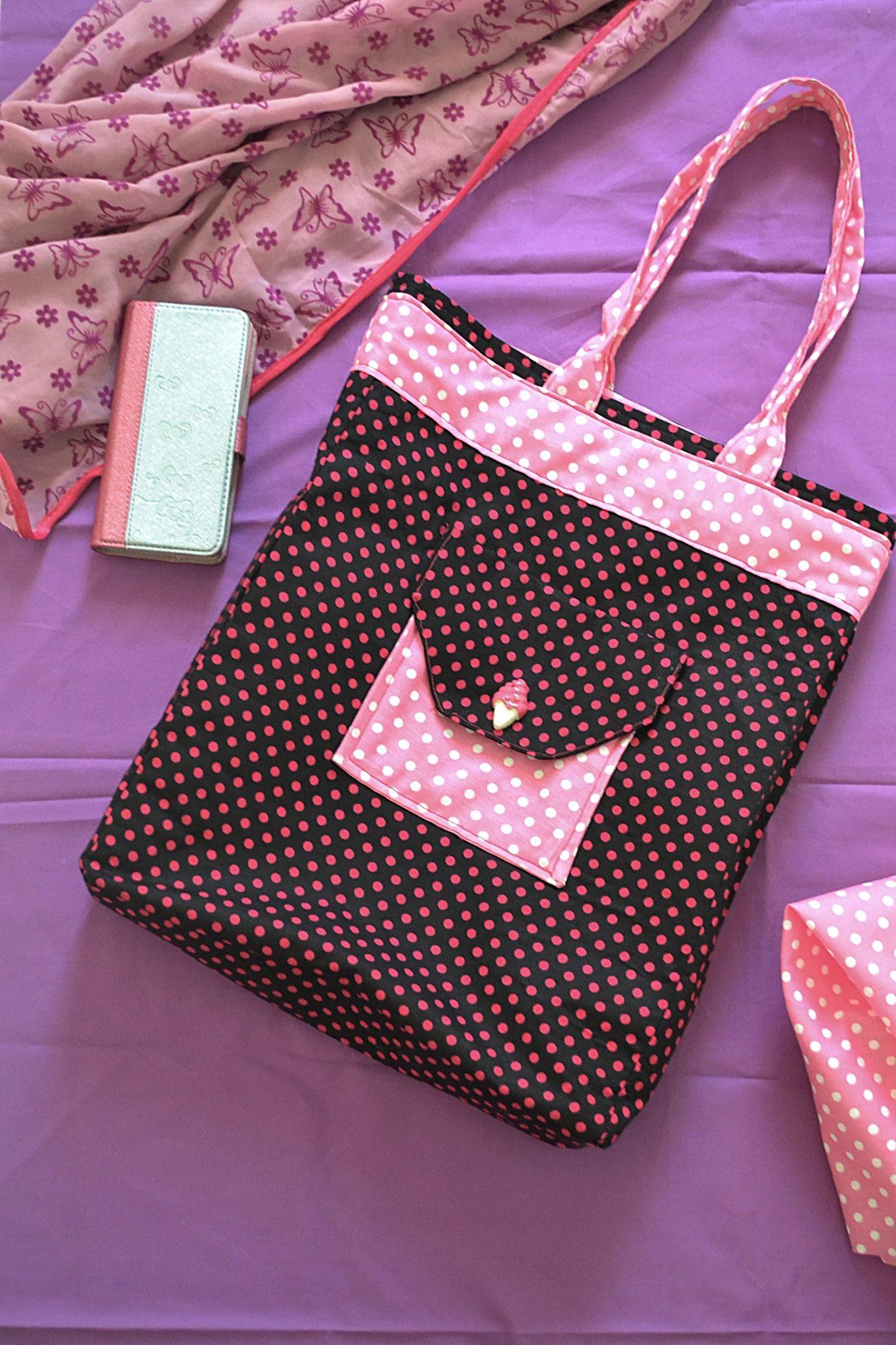 6 Pocket Pro Handbags Tutorial (Free Pattern)
