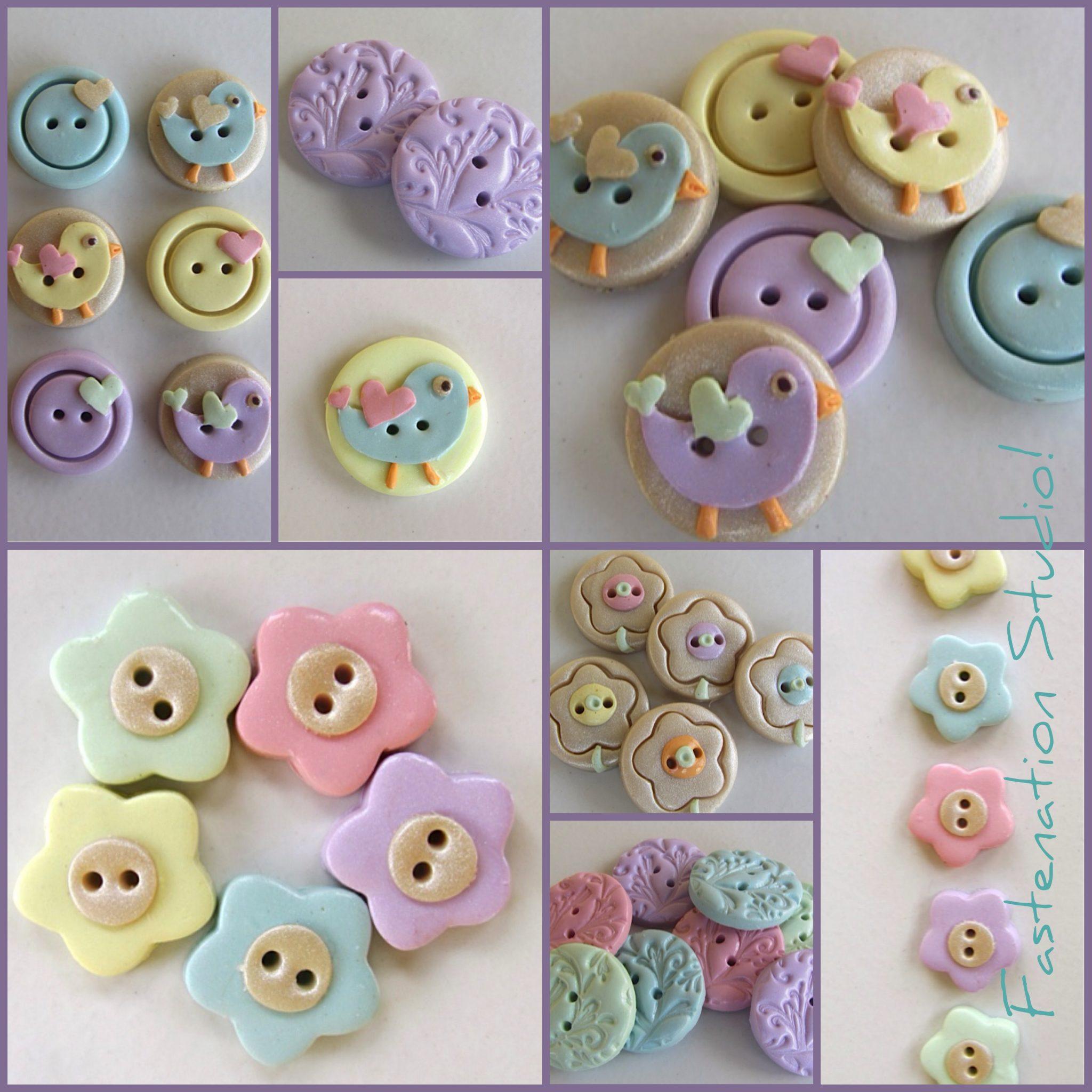 Shop Hand-made Buttons