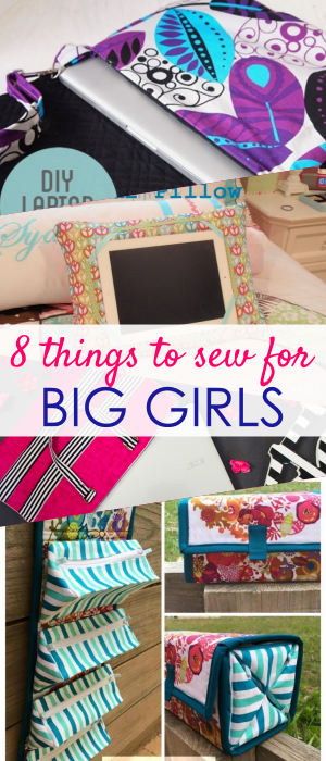 GIFTS TO SEW | things to sew for girls | fabric gifts to sew | things to sew for teens | teen girls sewing projects | GIFTS TO SEW FOR COLLEGE GIRL