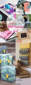 8 Must Sew Things for 21st Century Girl | things to sew for girls | fabric gifts to sew | things to sew for teens | teen girls sewing projects