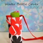 DIY Water Bottle Cover – Back to School Sewing Ideas (Easy Sewing Projects)