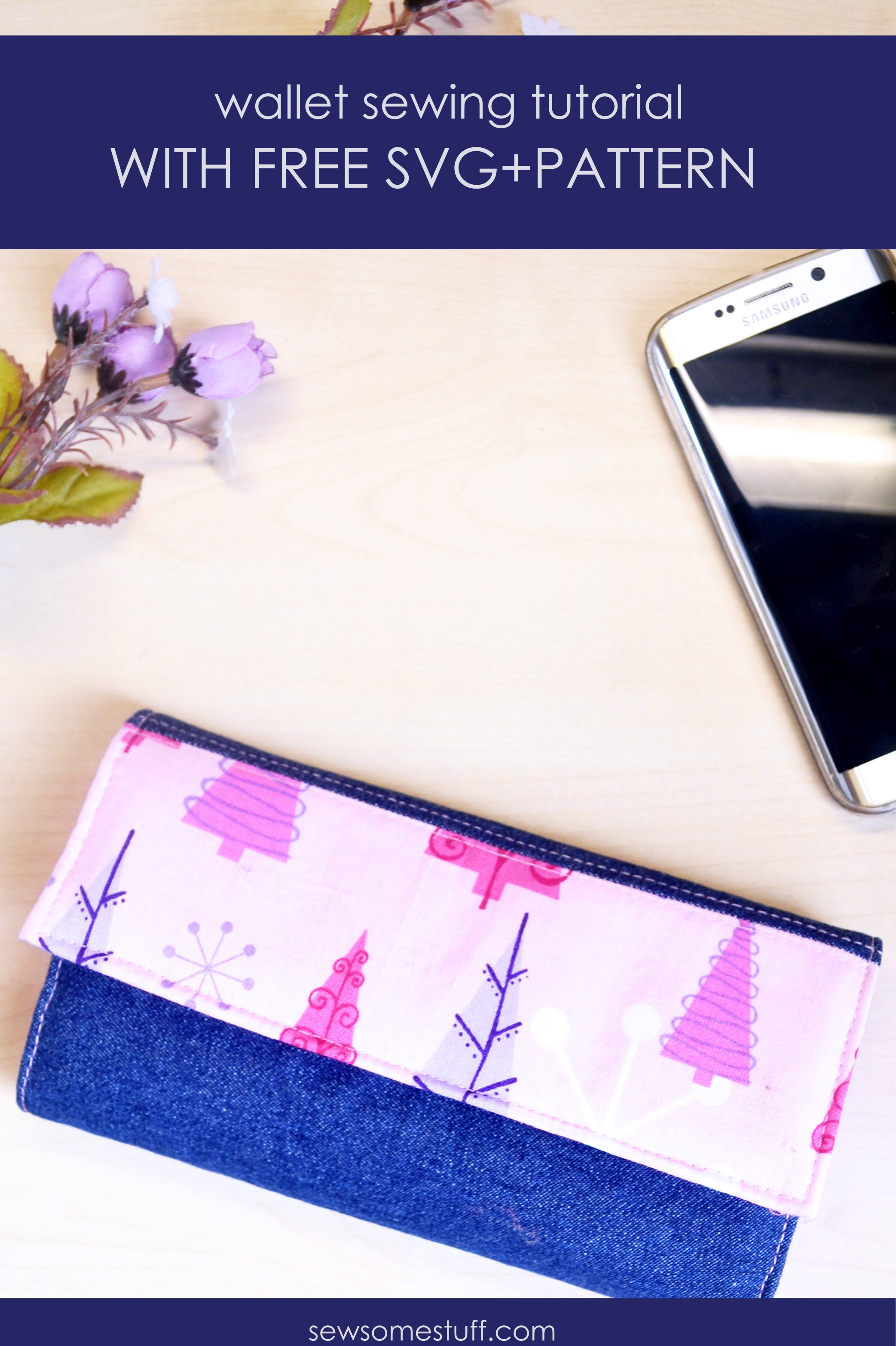 In this post, I'm sharing a free wallet pattern and a fabric handmade wallet tutorial. This DIY wallet makes a perfect gift for everyone. Learn in detail how to sew a wallet. Also, links are included for other wallet sewing patterns handmade wallet pattern, learn to sew, fabric wallet tutorial