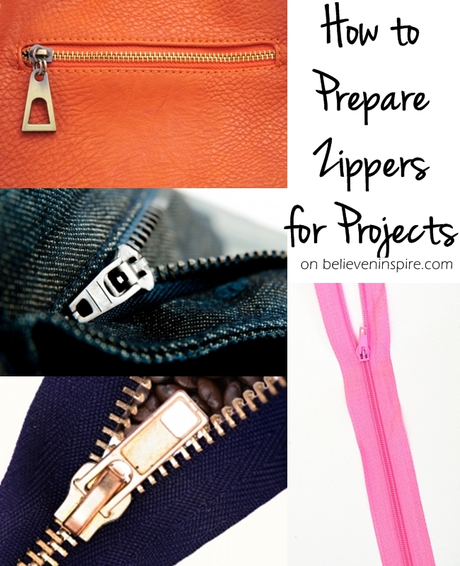 How to prepare zippers for sewing projects? Are you new to sewing? Having issues with sewing zippers? Don't know how to adjust them for your projects? Read THIS post where I will show you how to tame the zippers before starting any sewing project. Great post and sewing tips for beginners and will give you gorgeous end projects, CHECK IT OUT NOW!