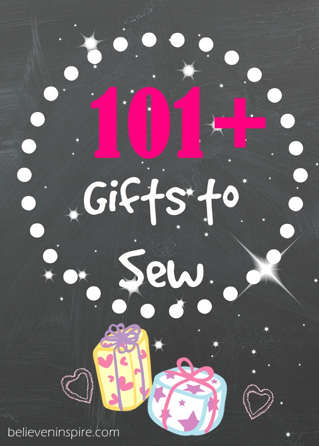 101 gifts to sew for moms, teens, babies, him.