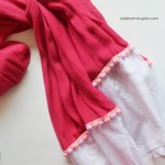 DIY Customized Scarf (Holiday Gift Ideas)