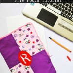 How to Sew a File Pouch