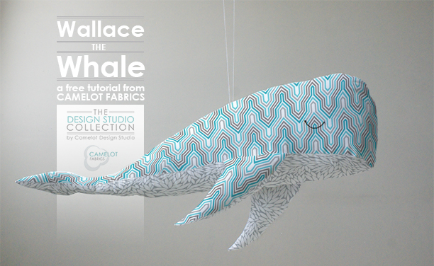 Fabric Whale Tutorial with FREE Pattern