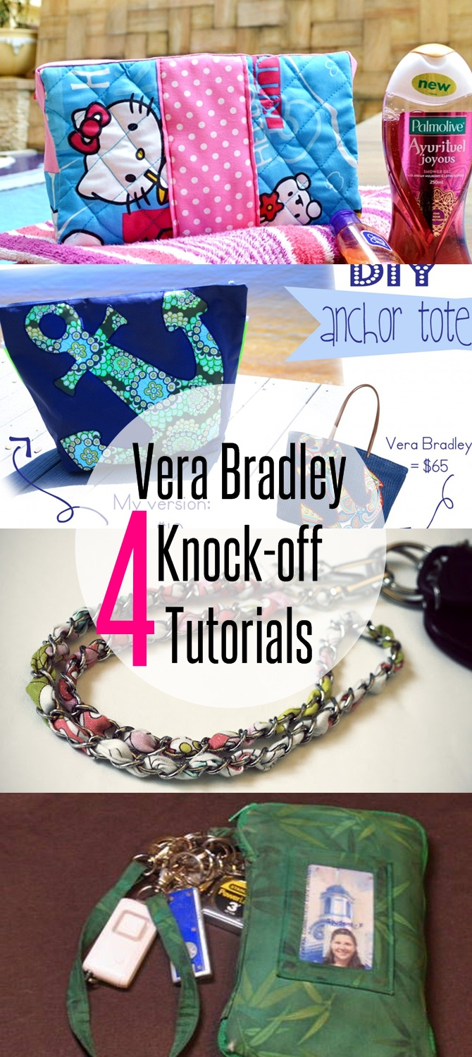 4 Vera Bradley Knock-off Tutorials on believeninspire.com