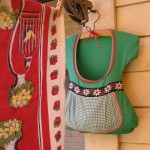 Dress Shape Clothespin Bag – ADORABLE!