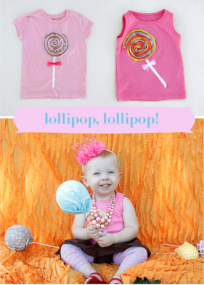 Lollipop Shirt Tutorial