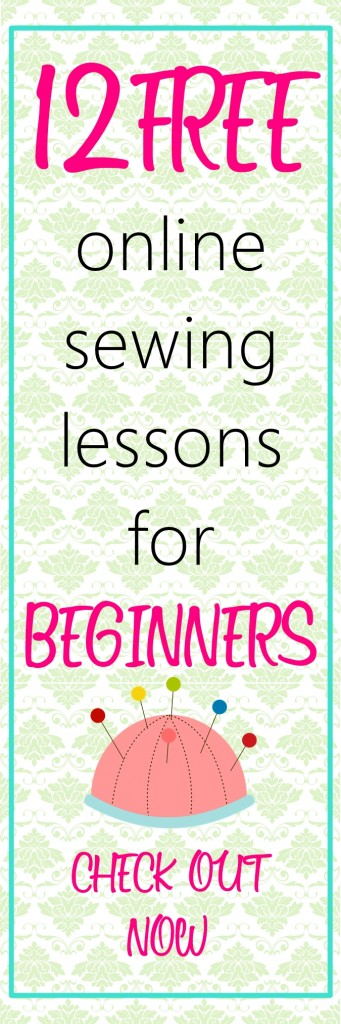 free online sewing classes for beginners