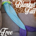 Mermaid Tail Blanket Pattern and Tutorial