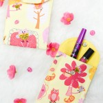 Easiest and Best 10 Minute Handmade Pouch Tutorial with Video