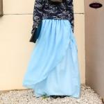 Enchanted Layered Chiffon Maxi Skirt Tutorial