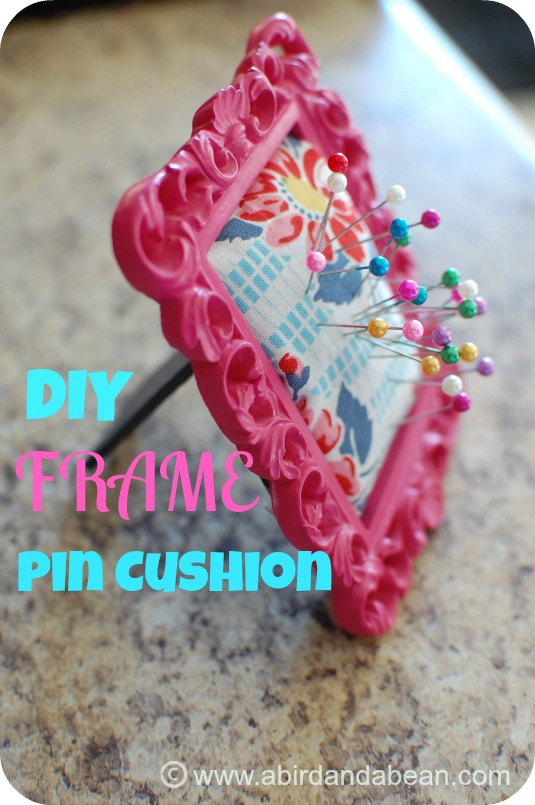 Frame Pin Cushion Tutorial