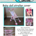 Doll Stroller Cover Sewing Pattern