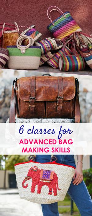 bag sewing patterns | free purse patterns | learn to sew bags | free tote patterns | bag making