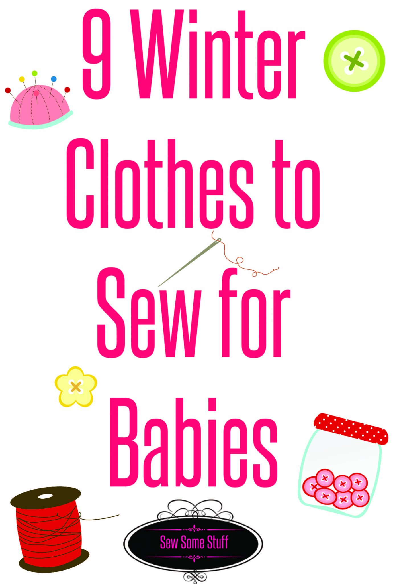 9 things to sew for babies on sewsomestuff.com