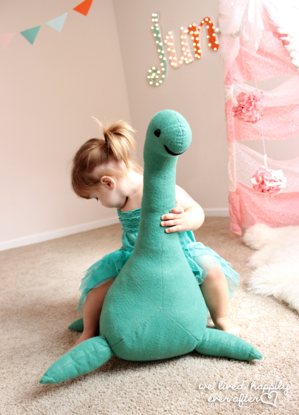 Dino Seat Sewing Pattern and Tutorial