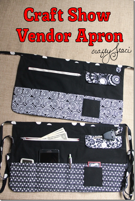 Craft Show Apron Sewing Tutorial