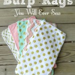 Super Easy Burp Cloth Tutorial