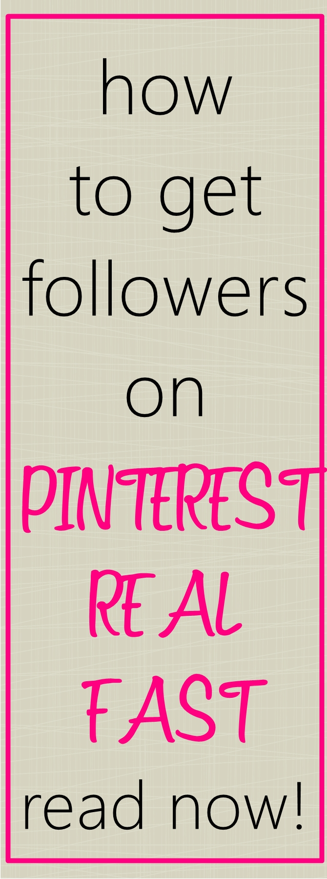 How to Get Lots of Pinterest Followers – FAST