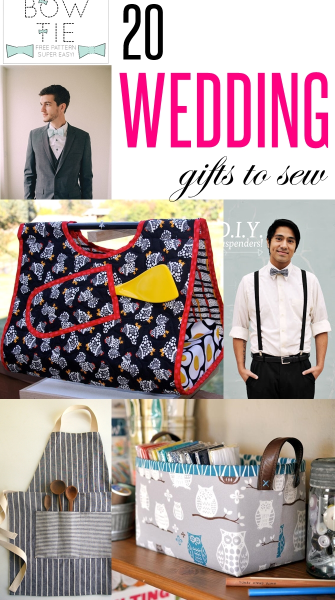 20 Wedding Gifts To Sew These Diy Practical Wedding Gift Ideas Are