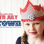 4th of July Fabric Crown Tutorial