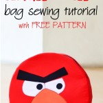 How to make Angry Birds Bag with FREE PATTERN
