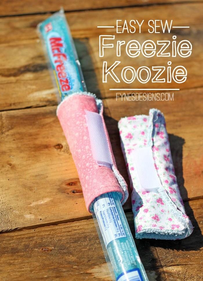 Freezie Koozies Tutorial