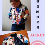 Toddler Bomber Jacket – Free pattern
