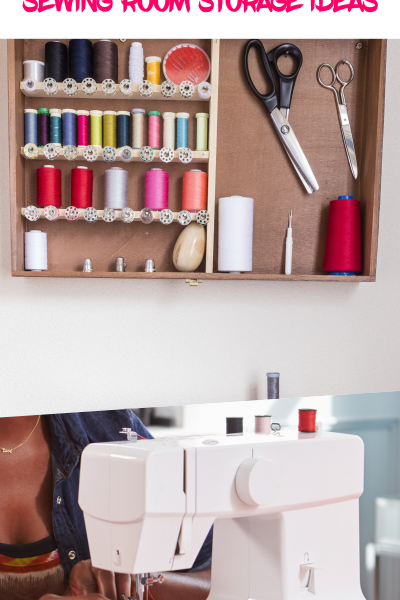 6 SUPER Cheap Sewing Room Organization Ideas to ROCK your Room