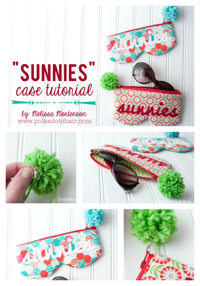 Sunglasses Case Sewing Tutorial