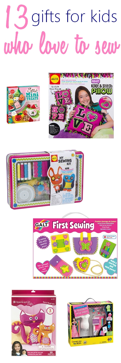 13 BEST Gifts for Kids Who Love to Sew Under $50 2018