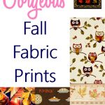15 Gorgeous Fall Fabric Prints