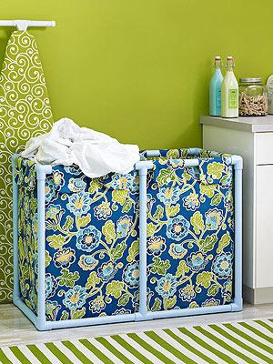 Laundry Storage Bins Tutorial