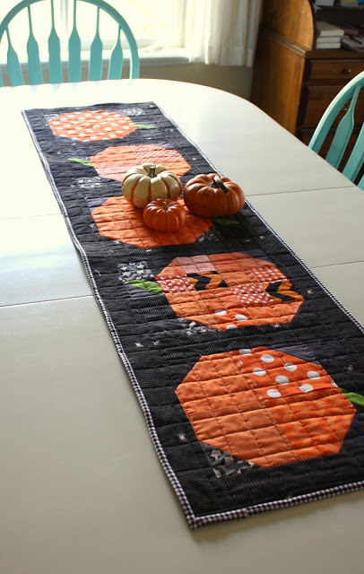 Patchwork Fall Quilt Block and Table Runner Sewing Tutorial