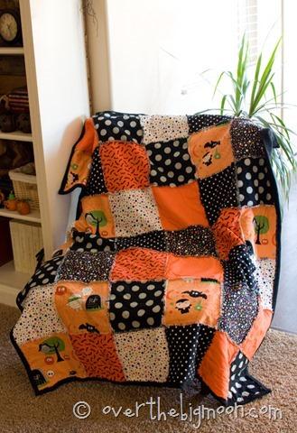 Fall Blanket Tutorial