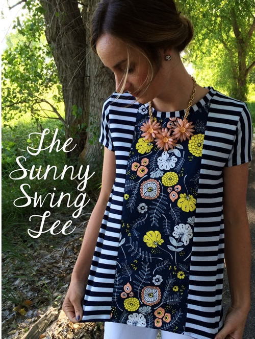Tee Sewing Tutorial and Free Pattern
