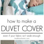 Duvet Cover Sewing Tutorial