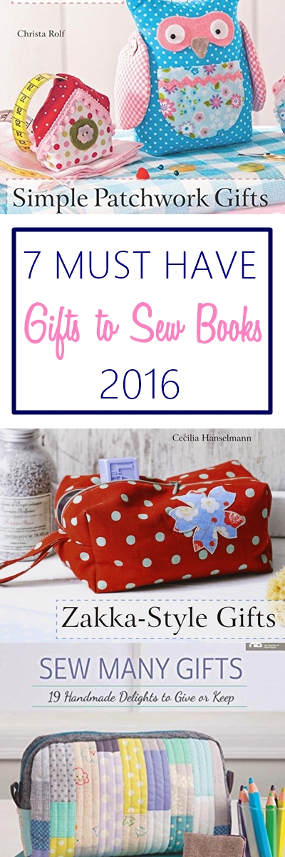 Gifts to sew ideas | books with holiday gifts to sew ideas | beginner gifts to sew | easy handmade gifts