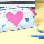 How to make PERFECT lined zippered pouch – LAST MINUTE GIFT TO SEW